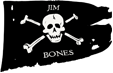 Captain Jim Bones Pirate
